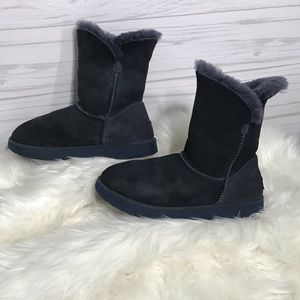 Authentic imperial blue classic ll short cuff Uggs